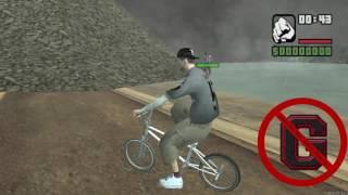 empinando de bike raspando a garupa daikhlo
