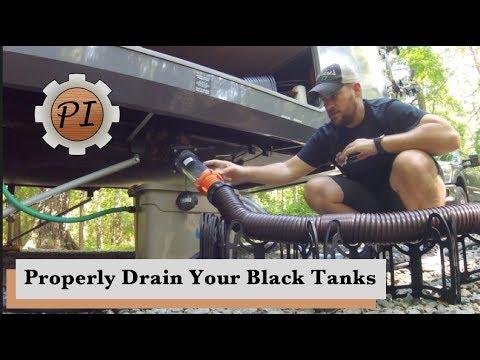 How to Drain Black Tanks & Toilet Disaster