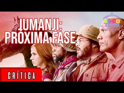 Jumanji: Próxima Fase   Crítica do filme   CINCO TONS