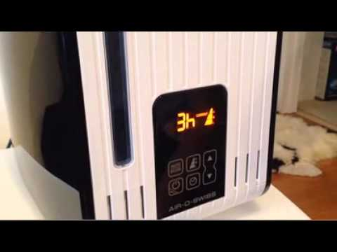 humidifier cleaning Air-O-Swiss S450 Steam Humidifier