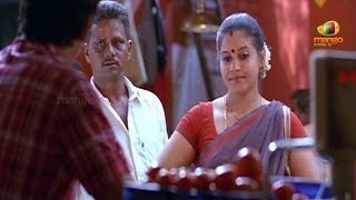 Jeeva trying to impress an aunty | Simham Puli Movie Scenes | Santhanam | Divya Spandana
