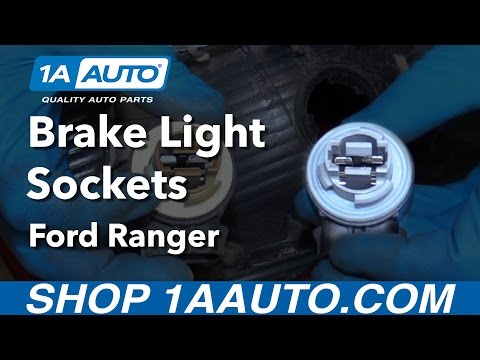 How to Install Replace Tail Light Bulb Socket 2001 Ford Ranger Buy Quality Parts from 1AAuto.com