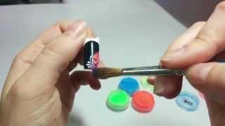 Видео дизайн ногтей пигментом видео