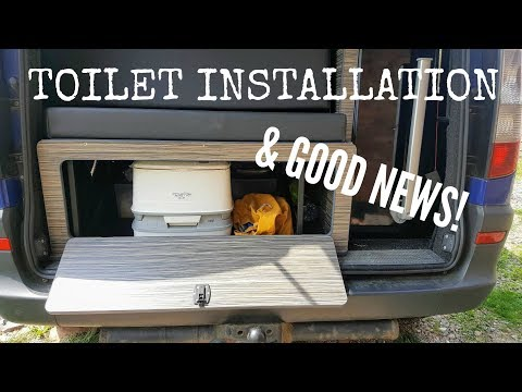Mercedes Vito Camper News & Toilet Installation | The Carpenter's Daughter