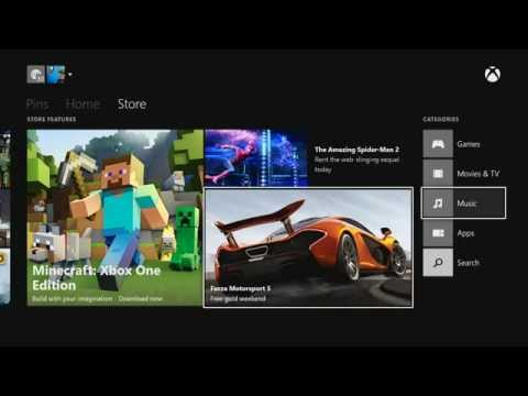 How to play a video from USB on the Xbox One