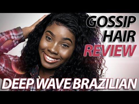 Gossip Hair Review: Deep Wave Brazilian Lace Frontal (2018)