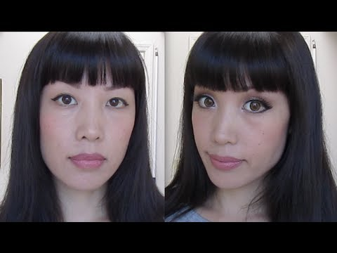 Big eyes - Asian makeup tricks