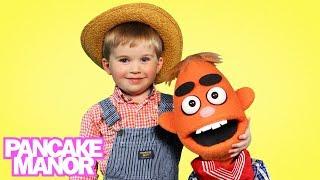OLD MACDONALD HAD A FARM ♫   Nursery Rhyme   Kids Songs   Pancake Manor