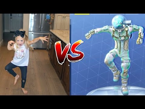 HILARIOUS FORTNITE DANCE CHALLENGE! - (In Real Life)