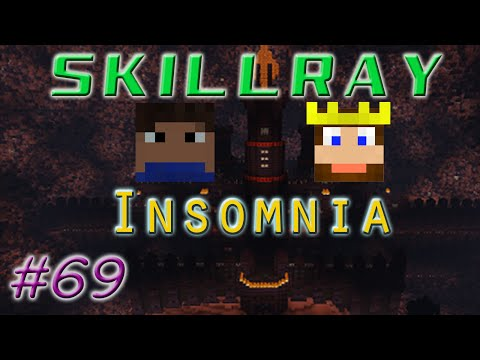 SkillRay ~ Insomnia: Ep 69 - BUFFED WITHER BOSS AMBUSH! - The End