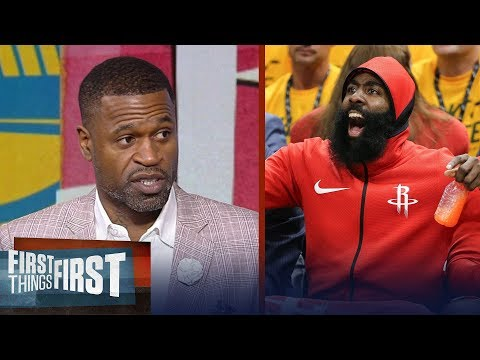 Stephen Jackson's keys for the Houston Rockets in Game 1 vs Warriors   NBA   FIRST THINGS FIRST