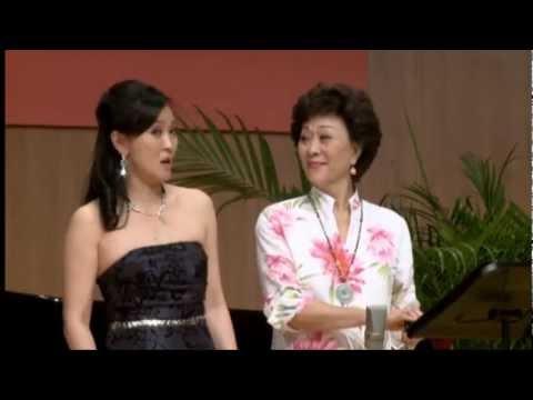 范宇文和Cindy Kuhn Chuang 母女 Duettino - Che soave zeffiretto from Figaro