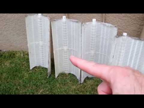 How to Clean, Fix, Repair or Change DE Filter Grids