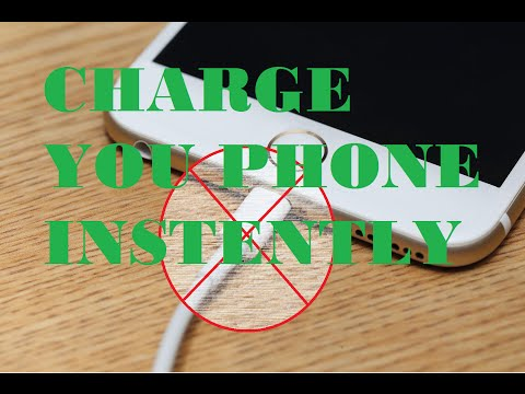HOW TO CHARGE ANY PHONE INSTANTLY WITHOUT A CHARGER! [TESTED WORKING]