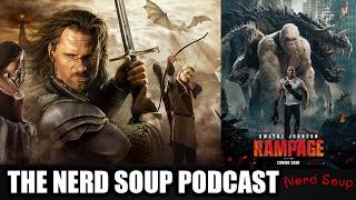 Rampage, Lord of the Rings Amazon Show & Game of Thrones BIGGEST BATTLE!