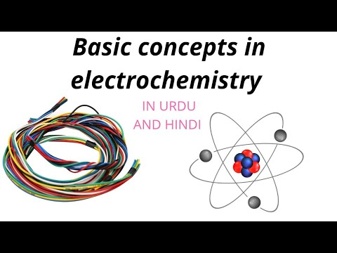 basic concepts in electrochemistry in hindi and urdu