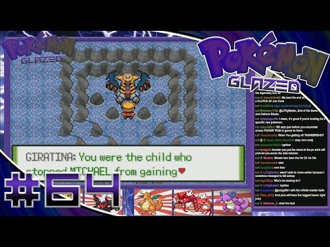 Pokemon Glazed Walkthrough Part 64- Giratina And Celebi! (Legendary Hunting)