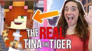 Download THE REAL TINA THE TIGER!! 😱 // Tina the Tiger from Minecraft Daycare Video