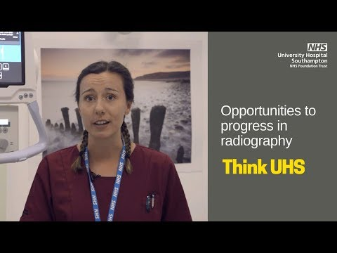 UHS Jobs | Career progression for radiographers