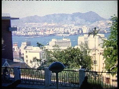Cruise from UK to Hong Kong 1957