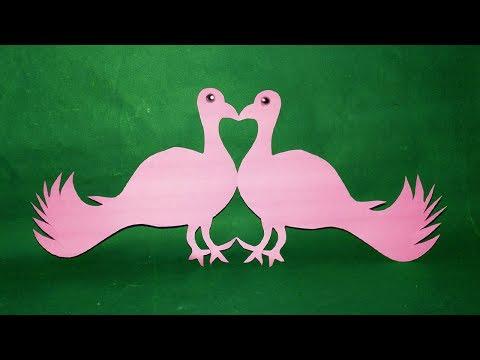Paper Birds-DIY#How to make Easy paper cutting Birds Design-Paper cut#Easycrafts.