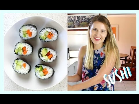 HOW TO MAKE EASY SUSHI ROLLS