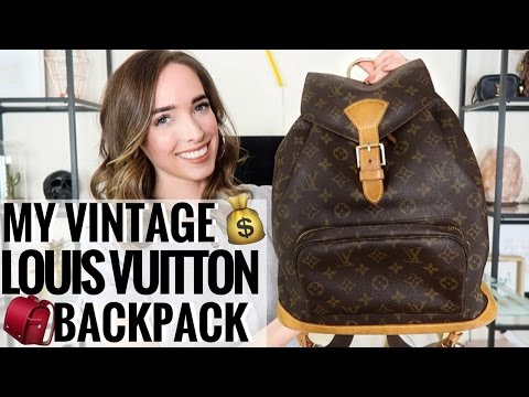 LOUIS VUITTON VINTAGE MONTSOURIS BACKPACK GM | EBAY PRELOVED PURCHASE & REVIEW | CIARA O DOHERTY