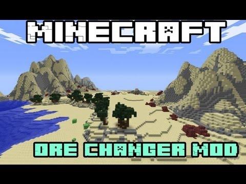 Minecraft Mods - Ore Changer