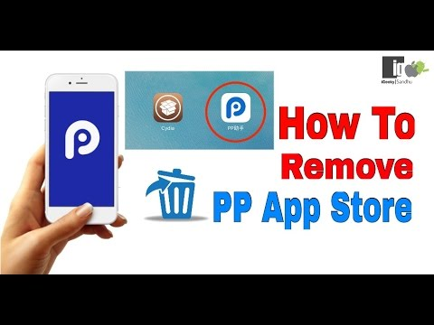 How To Remove | Delete the PP App Store From On iPhone , iPad , iPod Touch | Hindi | Urdu |