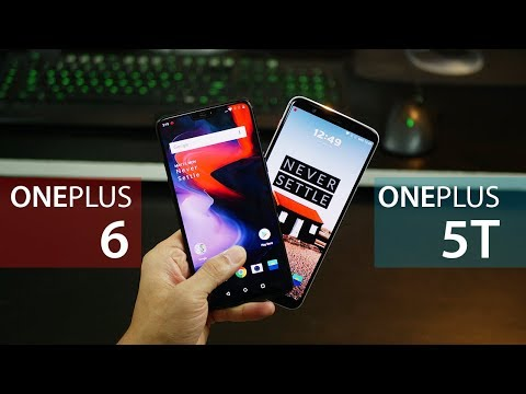 OnePlus 6 vs OnePlus 5T - Is it worth the upgrade?