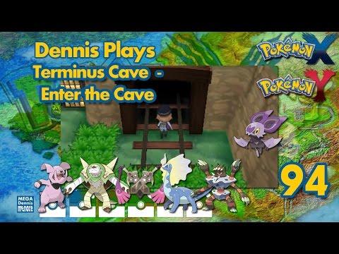 Pokemon Y Walkthrough (Ep 94) Terminus Cave - Enter the Cave