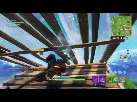 Playing fortnite with cousin