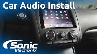 2012 Nissan Altima Ipad Mini And Car Audio System Install Custom Subw