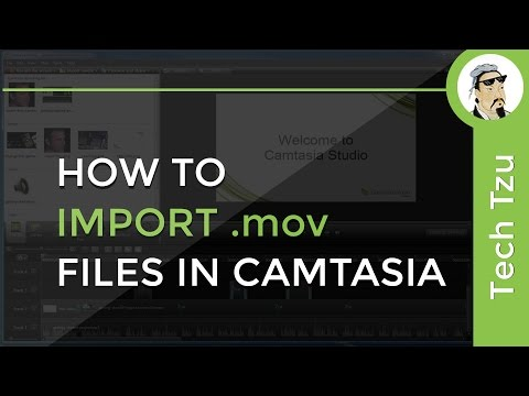 How To Import Mov Files In Camtasia