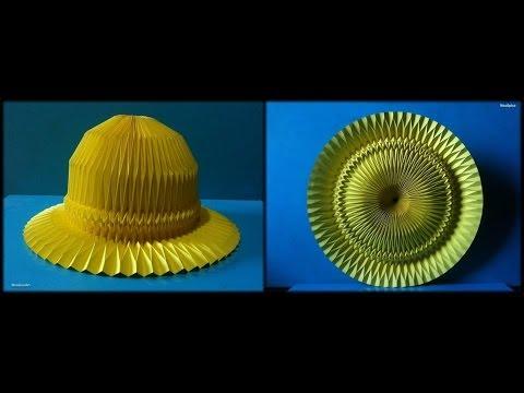 Hat Paper / Folding Corrugation -Origami-