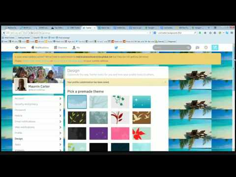 Twitter For Business | How To Change Twitter Background