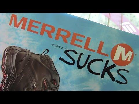 Merrell SUCKS!!! by TheGearTester