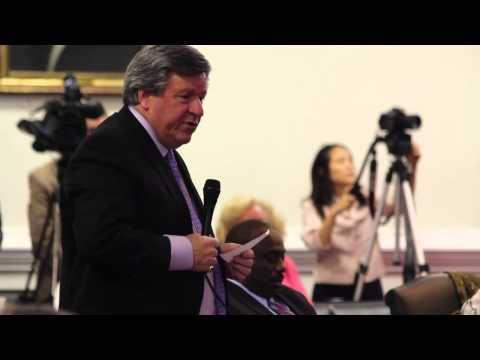 Late Sen. Martin Nesbitt on NC Voting Restrictions
