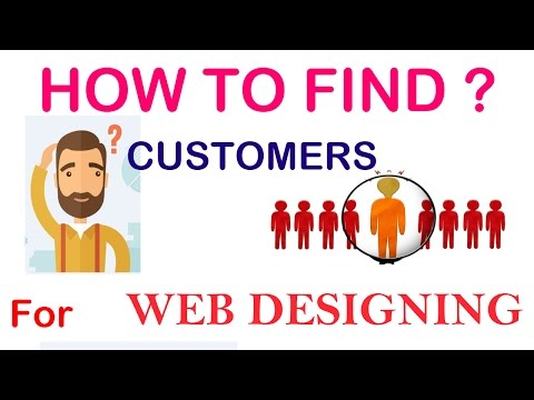 How to get more customers to your business -  New customer acquisition for web design