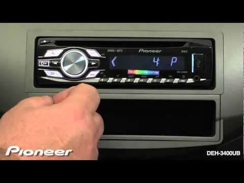 How To DEH 3400UB - Set Clock