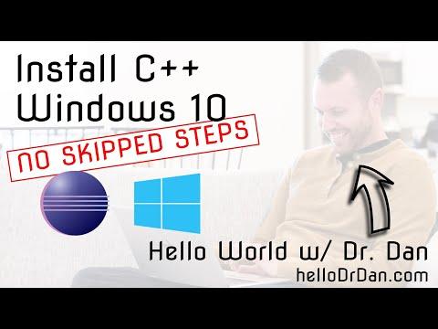 C++11 (gcc/g++ using MinGW64) in Eclipse - Installation on Windows 10 + First Program