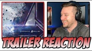Download Marvel Studio's Avengers: Endgame Trailer Reaction (Avengers 4) Video