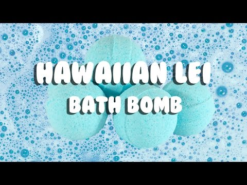 Hawaiian Lei Bath Bomb by ME! Bath