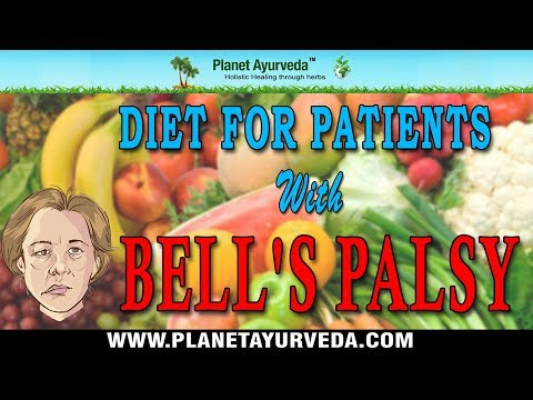 Diet Chart for Bell's Palsy (Facial Paralysis) - Neurological Disorders