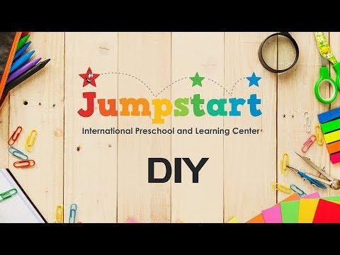 Jumpstart Pune DIY Craft Video | Elephant finger Puppet