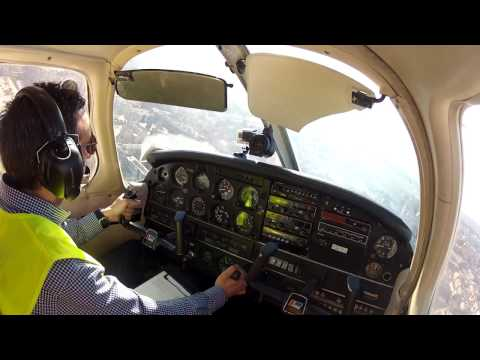 PPL First Solo Flight - LECU Airport