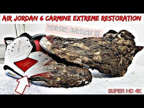 Air Jordan 6 Carmine Extreme Restoration 4K