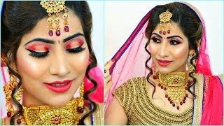 Download Most AFFORDABLE Indian BRIDAL Makeup - Step By Step Tutorial | #Budget #Wedding #Bride #Anaysa Video