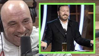 Joe Rogan on Ricky Gervais' Golden Globes Monologue