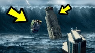 GTA 5 - The MOST GIGANTIC Tsunami EVER! (Giant Waves)